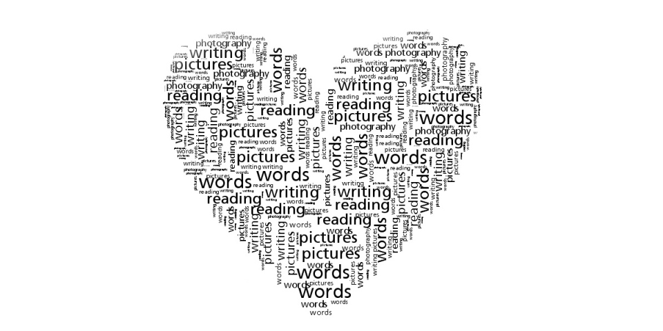 words heart