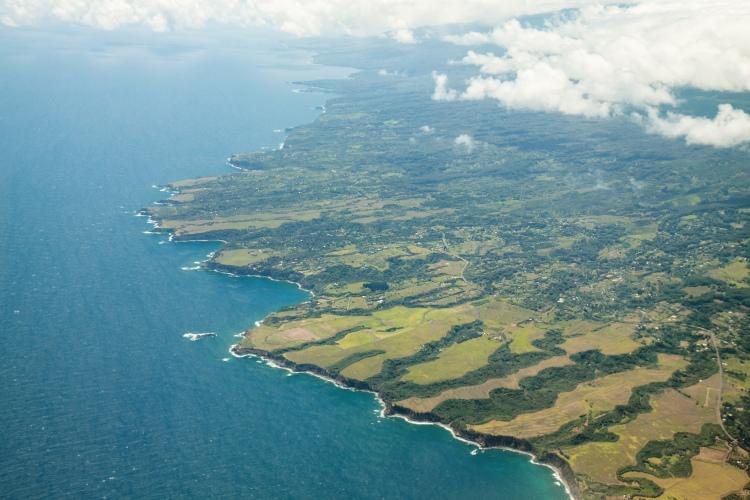 Landing into Maui.